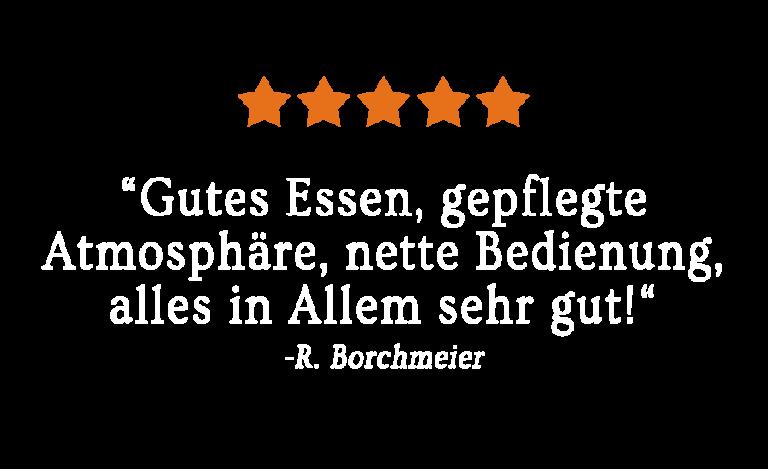 Gasthaus Tegetmeier Kundenbewertung